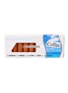 עשרה פילטרים לסיגריה אלקטרונית בטעם קפה