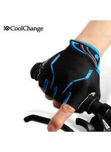 כפפות רכיבה פרימיום מקצועיות וספורטיביות CoolChange חצי אצבע *במלאי מיידי*