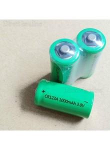 סוללה נטענת תואמת Ultrafire CR123A 3.0v 1000mAh 16340 Li-ion  *במלאי מיידי*