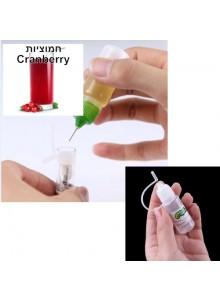 נוזל לסיגריה אלקטרונית בטעם חמוציות 10 מיליליטר