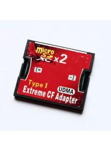מתאם כפול Extreme CF Adapter Type I 2X Micro SDXC