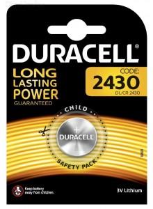 סוללה Duracell CR2430  טרייה בתוקף עד 2027  *במלאי מיידי*