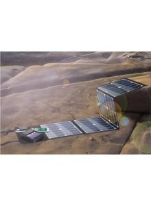 מטען נייד פאנל סולארי ELEGEEK ELE-H52E 52W 5V 2.1A  DC 12V 3.46A *במלאי מיידי
