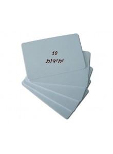 כרטיסי עובד ניתנים לכתיבה וקריאה EM4305 RFID 125Khz *במלאי מיידי*