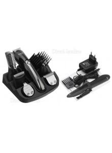 KEMEI KM-600 מכונת טיפוח חשמלית מקצועית רב שימושית לתספורת עיצוב שיער זקן שפם פיאות ומסיר שיער לאף והאוזניים *במלאי*
