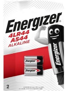 2 סוללות מקוריות 6V 4LR44 Energizer *במלאי מיידי*