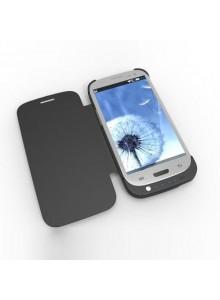 3200mah סוללת גיבוי חיצונית (בנרתיק) למכשיר סמסונג גלקסי 4 Samsung Galaxy S4 I9500