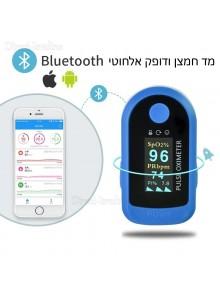 מד רוויית חמצן ודופק אוקסימטר בלוטוס ואפליקציה D4378 *במלאי מיידי*