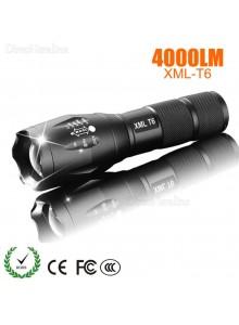 פנס עם זום 7 מצבים 4000 Lumens CREE XM-L T6 LED *במלאי מיידי*