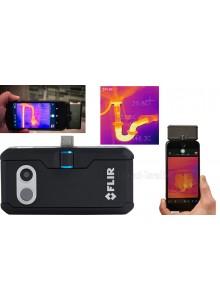 מצלמה תרמית לסמארטפון אנדרואיד לאיתור נזילות מים דליפות חום וצייד לילי FLIR ONE Pro LT - Android (USB-C או MICRO USB) - Pro-Grade Thermal Camera *במלאי מיידי*