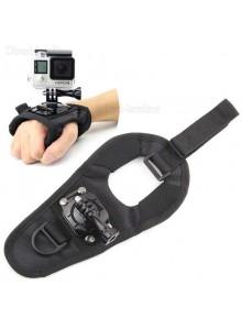 רצועת זרוע כפפה מסתובבת 360 מעלות GoPro SJCAM מצלמות אקסטרים *במלאי מיידי*