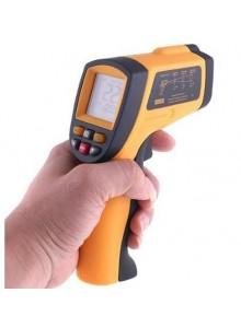 מד חום עד 900°C דיגיטלי אלחוטי עם קרן לייזר GM900 *במלאי מיידי*