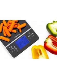משקל דיגיטלי לדיאטה המציג ערך קלורי של המזון GOURMIA GKS9190