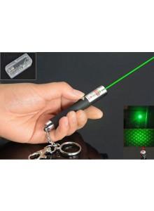 מצביע לייזר ירוק מחזיק מפתחות 1mw *במלאי מיידי*