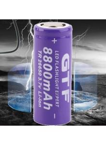 סוללה נטענת 3.7v 8800mAh 26650 Li-ion *במלאי מיידי*