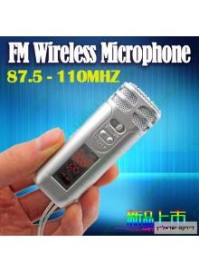 מיקרופון אלחוטי המשדר ב FM למערכת ברכב *במלאי מיידי*