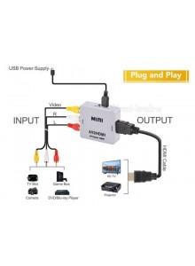 מתאם AV / Composite to HDMI *במלאי מיידי*