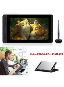 לוח כתיבה אלקטרוני HUION KAMVAS Pro 13 GT-133 *במלאי מיידי*
