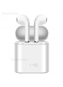אוזניות בלוטוס i7S TWS BT4.2 אלחוטיות כוללות מיקרופון לאנדרואיד ואייפון D3438 *במלאי+מיידי*