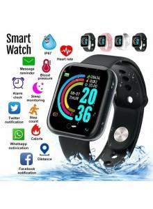 שעון פעילות חכם בלוטוס כולל מד דופק לחץ דם חמצן בדם עם צג צבעוני Y68 *במלאי מיידי*