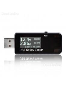 בודק עומסים ונתונים מולטיטסטר USB 3V - 30V QC2.0 / 3.0 J7-T