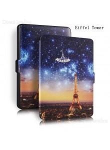 KINDLE PAPERWHITE נרתיק וינטאג Eiffel Tower לדגם 2015-2017
