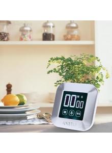 טיימר דיגיטלי למטבח עם מסך מגע ותצוגה גדולה ANSELF H17029 *במלאי מיידי*