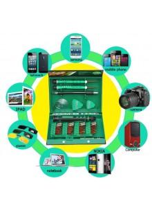 סט 38 חלקים מברגים לסמארטפונים טאבלטים ולוחות אלקטרוניים D5848 *במלאי מיידי*