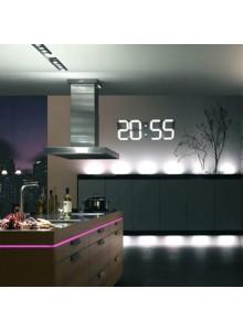 שעון קיר מעורר טמפרטורה וטיימר דיגיטלי עם תצוגת ענק ושלט D5780 *במלאי מיידי*