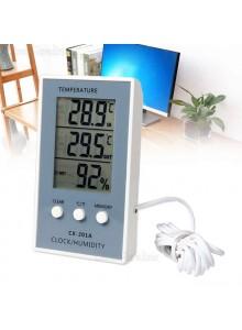 מד טמפרטורה ולחות לשימוש פנים וחוץ DC105 *במלאי מיידי*