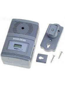 פעמון דלת אלחוטי עם גלאי תנועה מונה נכנסים וצג LCD D5160