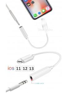 מתאם אוזניות 3.5 לאייפון iPhone 7 8 X דגם D3830 *במלאי מיידי*