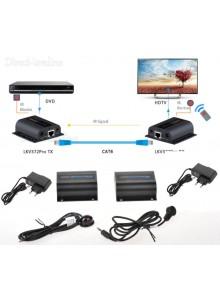 מאריך HDMI Cat5e Cat6 To RJ45 Extender עד 60 מטר