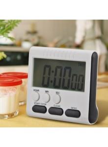 טיימר דיגיטלי למטבח עם מגנט ותצוגה גדולה גם ספירה לאחור גם שעון עם צלצול חזק D5254 *במלאי מיידי*