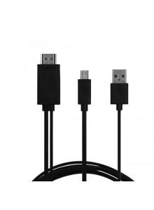 מתאם MHL מיקרו USB ל-HDMI לסמסונג גלקסי Samsung Galaxy Note 3 III N9000 כולל כבל HDMI
