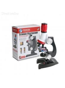 ערכת מיקרוסקופ ביולוגי לילדים מגדיל פי 1200 C2121 *במלאי מיידי*