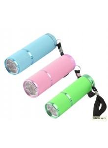 פנס אולטרא סגול מייבש לק 9 UV LED *במלאי מיידי*