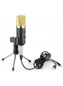 מיקרופון קונדנסור USB באיכות סטודיו MK-F100TL *במלאי מיידי*