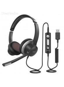 MPOW HC6 BH328A אוזניות מקצועיות למערכת ראש לטלפון / מחשב *במלאי מיידי*