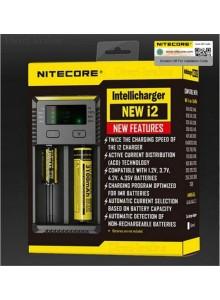 מטען דיגיטלי חכם Nitecore New I2 לסוללות נטענות *במלאי מיידי*