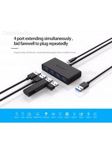 מפצל 4 יציאות USB 3.0 OTG ORICO D2579