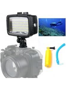 פנס זרקור 60 לד 1800 לומנס לצלילה וצילום בחשיכה ל GoPro/SJCAM Orsda SL-101