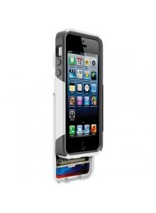 נרתיק קשיח Commuter OtterBox עבור iPhone 5 / 5S / SE (צבע לבן)