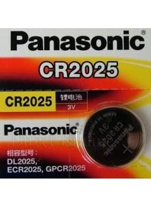 סוללה מקורית ליתיום PANASONIC CR2025  *במלאי מיידי*