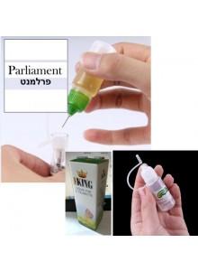 נוזל לסיגריה אלקטרונית בטעם פרלמנט 10 מיליליטר