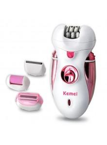 מכשיר משולב מסיר שיער שיוף פדיקור וגילוח עדין נטען KEMEI KM-2530 *במלאי מיידי*