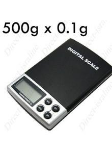 משקל אלקטרוני דיגיטלי לתכשיטים שקילה עד 500 גרם דיוק עד 0.1 גרם