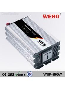 ממיר מתח בהספק 600W Pure Sine WHP-600W לרכב בחיבור למצבר