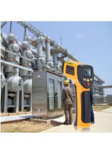 מד חום עד 650°C דיגיטלי אלחוטי עם קרן לייזר HT-816 *במלאי מיידי*