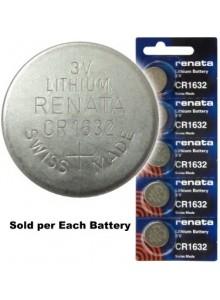 סוללה מקורית ליתיום RENATA CR1632  *במלאי מיידי*